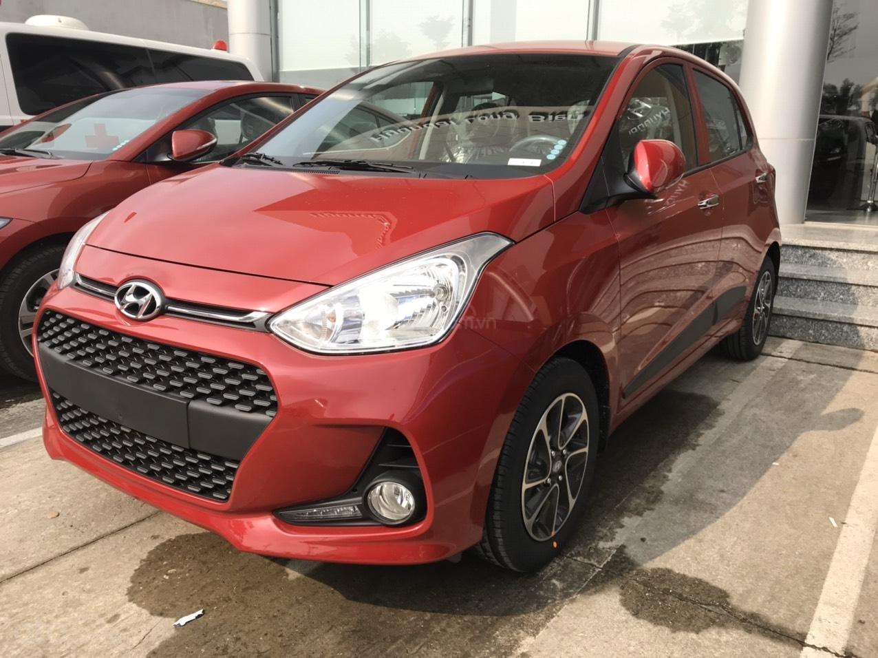 Cần bán Hyundai Grand i10 đời 2020, màu đỏ, xe mới 100%, sx trong nước, hỗ trợ trả góp tới 80% (1)