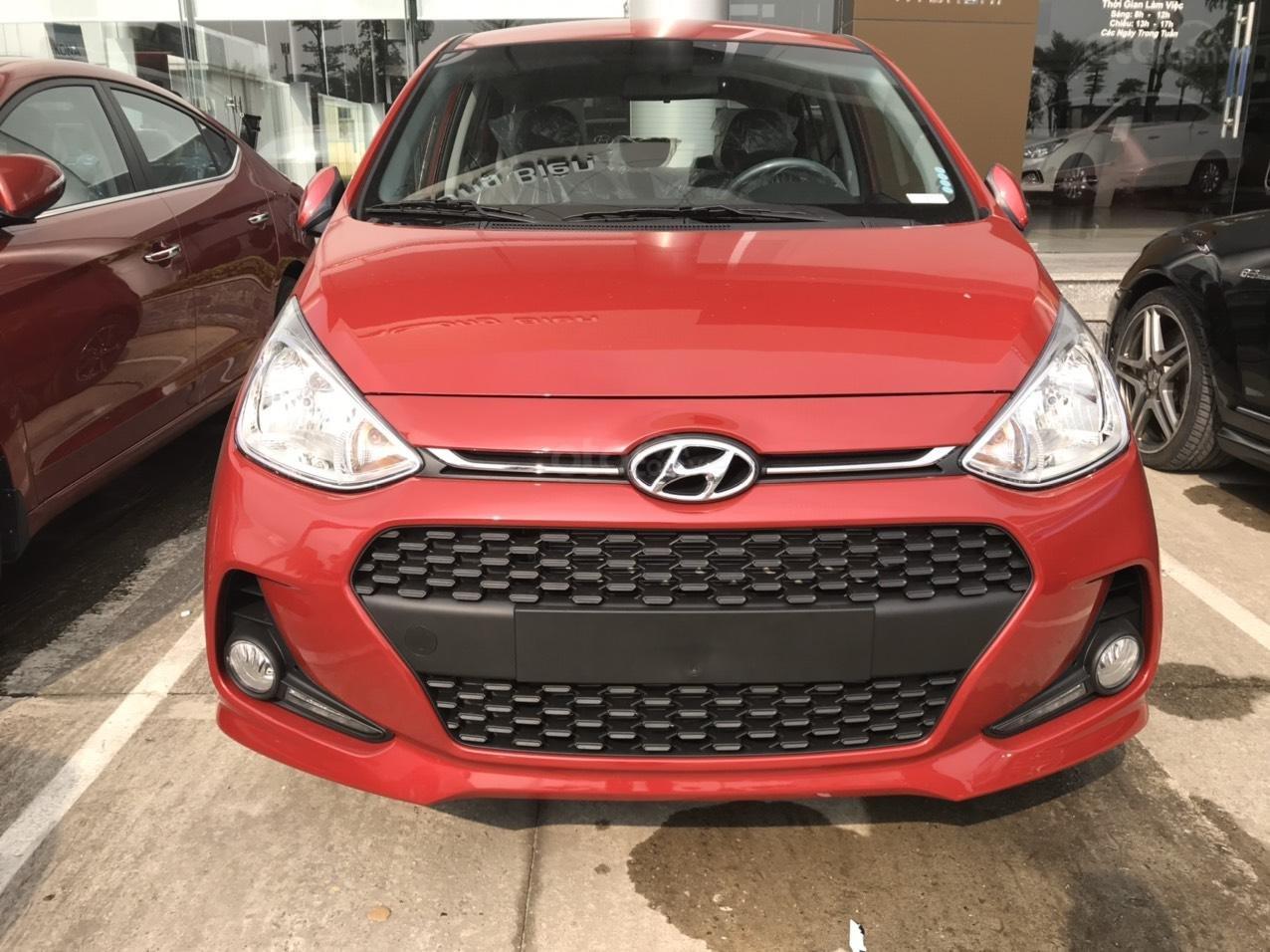 Cần bán Hyundai Grand i10 đời 2020, màu đỏ, xe mới 100%, sx trong nước, hỗ trợ trả góp tới 80% (2)
