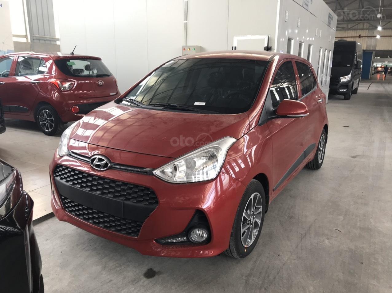 Cần bán Hyundai Grand i10 đời 2020, màu đỏ, xe mới 100%, sx trong nước, hỗ trợ trả góp tới 80% (3)
