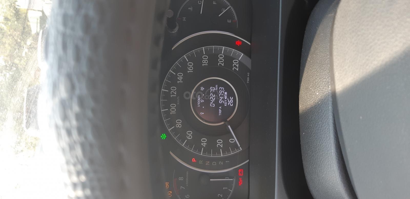 Bán Honda CR V đời 2016, màu nâu số tự động (4)