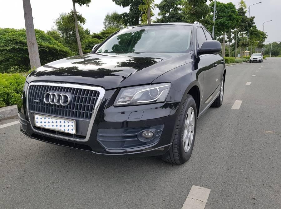 Cần bán gấp Audi Q5 2.0 đời 2012, màu đen, nhập khẩu, 945 triệu (2)