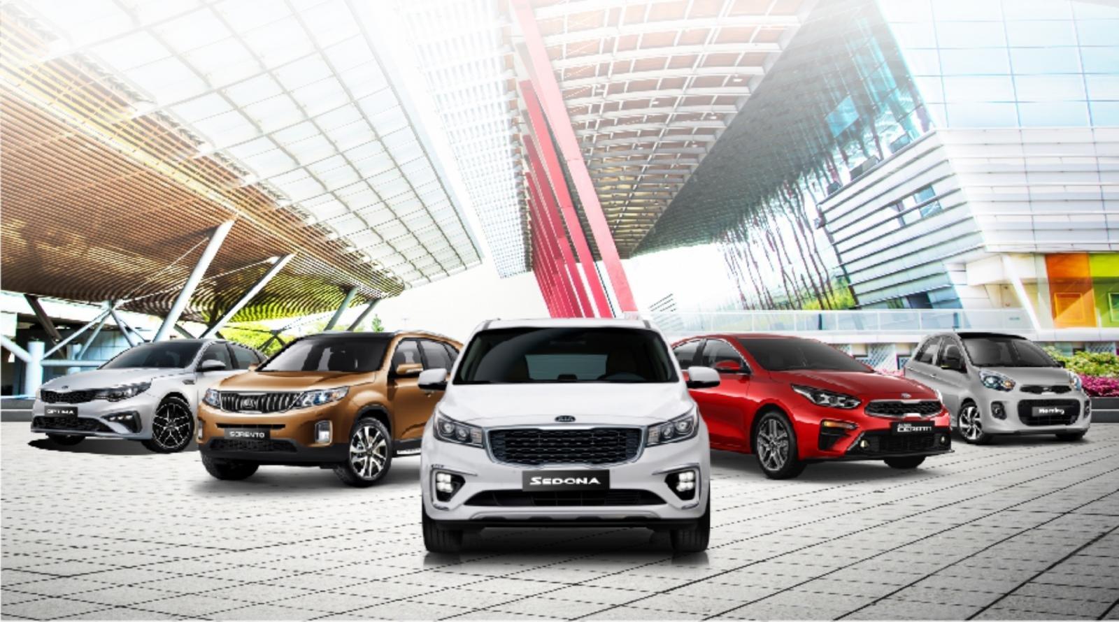 Cập nhật lãi suất vay mua xe Kia - Ưu đãi tết 2020 1a