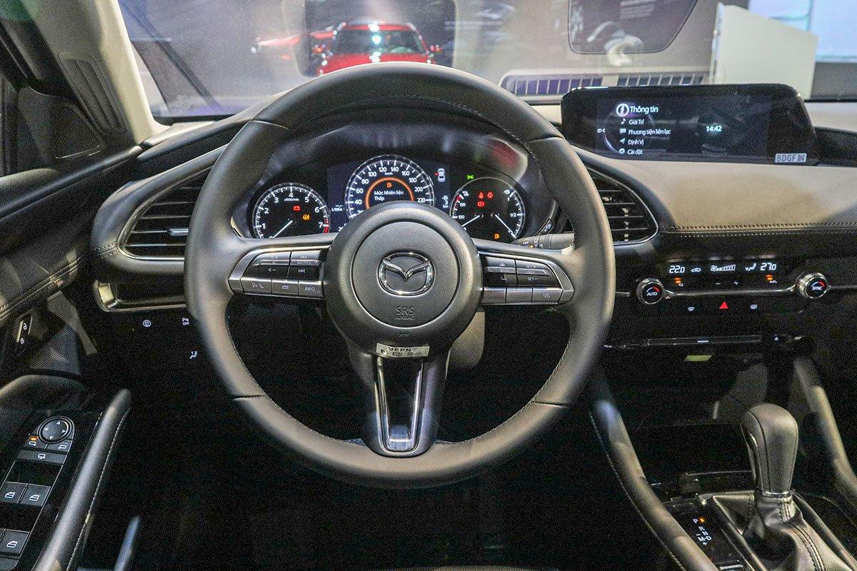 So sánh qua ảnh xe Mazda 3 Sport 2020 và đời cũ a25