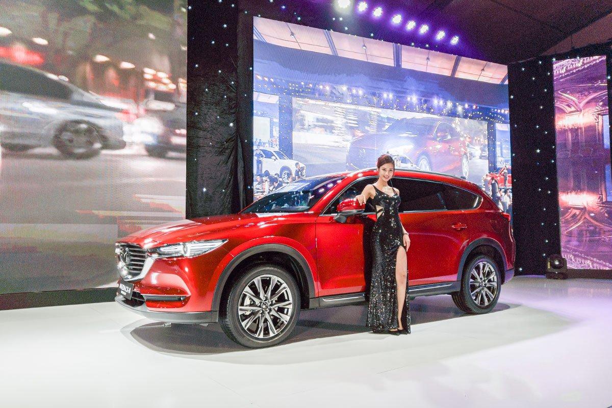 Ảnh chụp Mazda CX-8 2019
