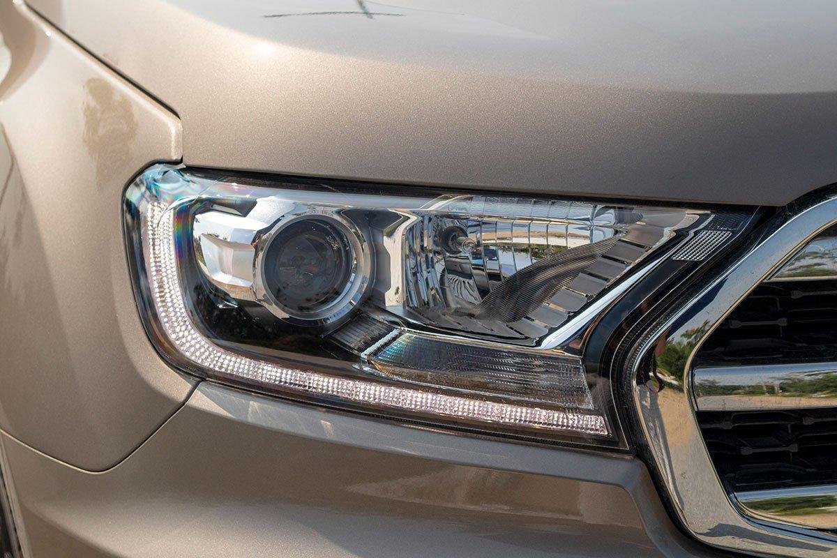 Thiết kế đèn pha Ford Everest 2020 1