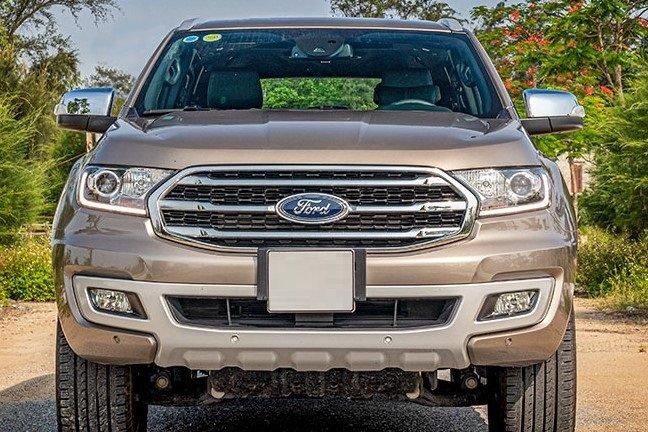 Thiết kế đầu xe Ford Everest 2020