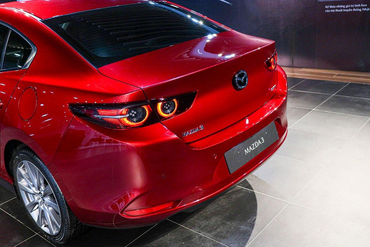 Thiết kế đuôi xe Mazda 3 2020 1