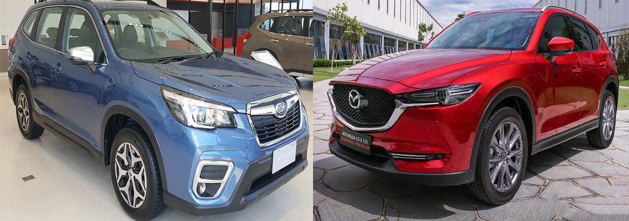So sánh xe Mazda CX-5 2019 và Subaru Forester 2019: Kẻ đầy ắp công nghệ, kẻ đề cao sự mạnh mẽ 1