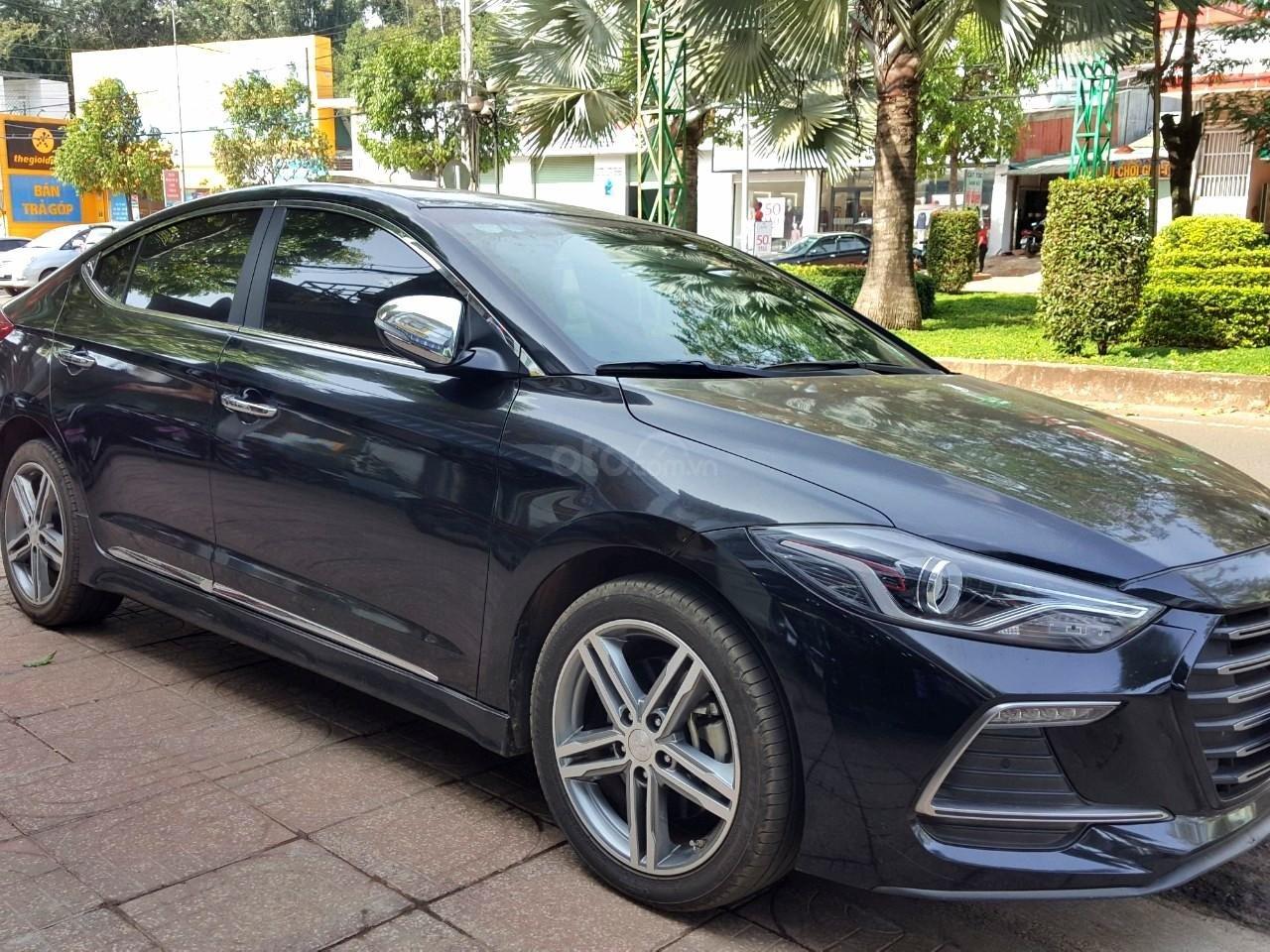 Hãng bán Hyundai Elantra Tubor 1.6AT, màu đen vip, 2018, xe cực đẹp (3)