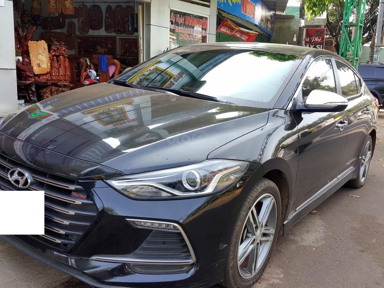 Hãng bán Hyundai Elantra Tubor 1.6AT, màu đen vip, 2018, xe cực đẹp (4)