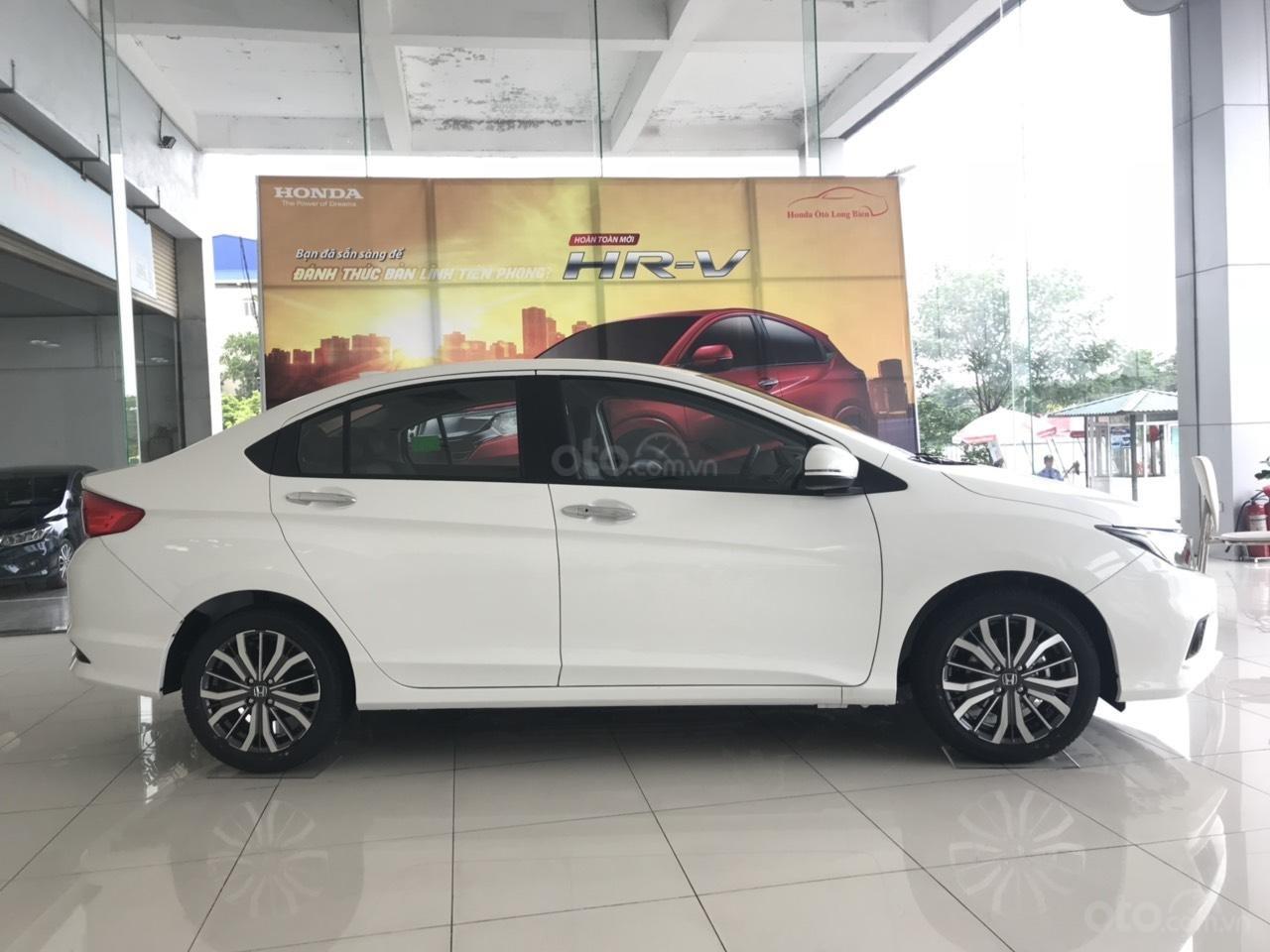 Giảm giá sốc cuối năm chiếc xe Honda City Top 1.5 đời 2019, màu trắng - Có sẵn xe - Giao nhanh toàn quốc (1)