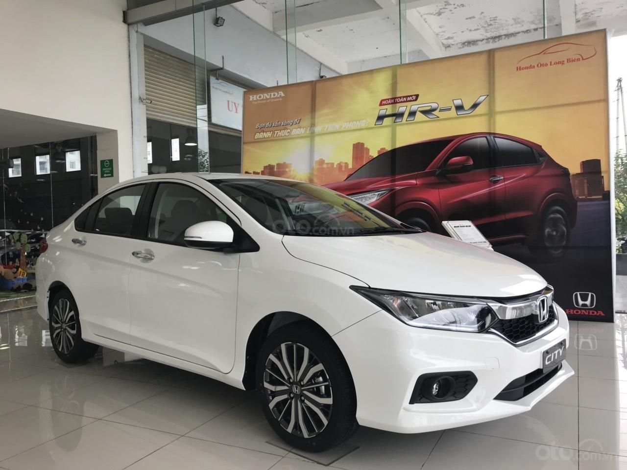 Giảm giá sốc cuối năm chiếc xe Honda City Top 1.5 đời 2019, màu trắng - Có sẵn xe - Giao nhanh toàn quốc (4)