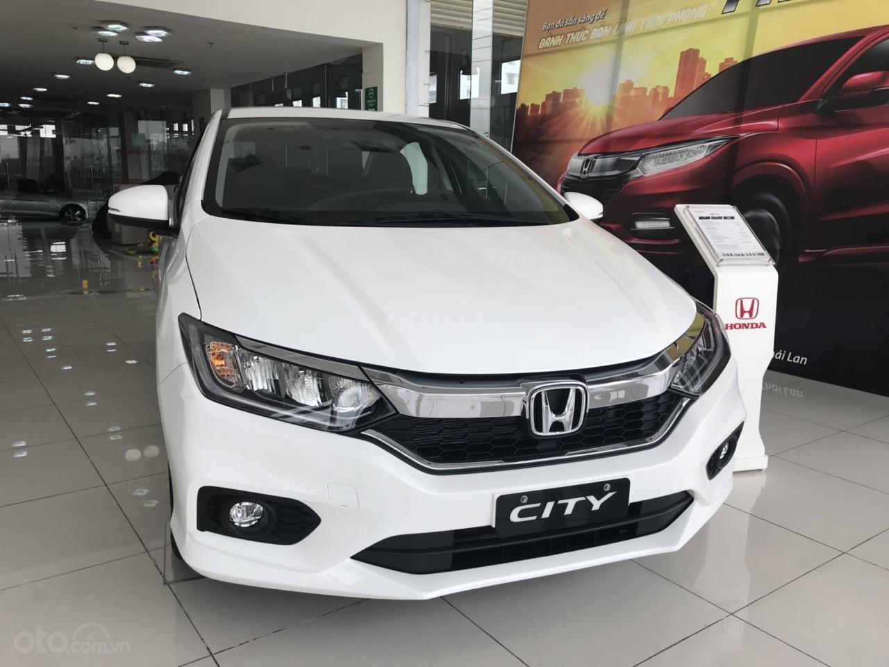 Giảm giá sốc cuối năm chiếc xe Honda City Top 1.5 đời 2019, màu trắng - Có sẵn xe - Giao nhanh toàn quốc (6)