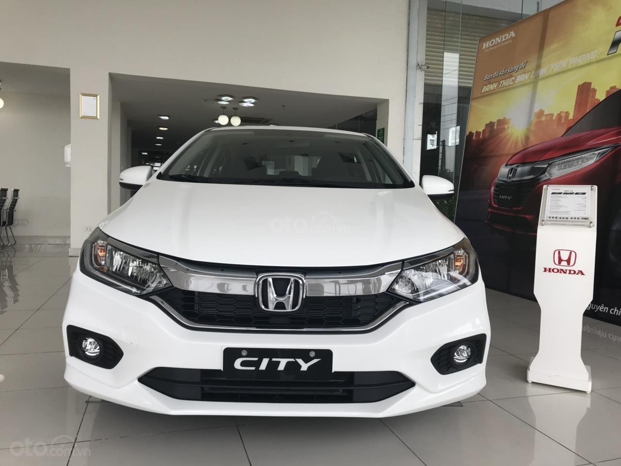 Giảm giá sốc cuối năm chiếc xe Honda City Top 1.5 đời 2019, màu trắng - Có sẵn xe - Giao nhanh toàn quốc (5)