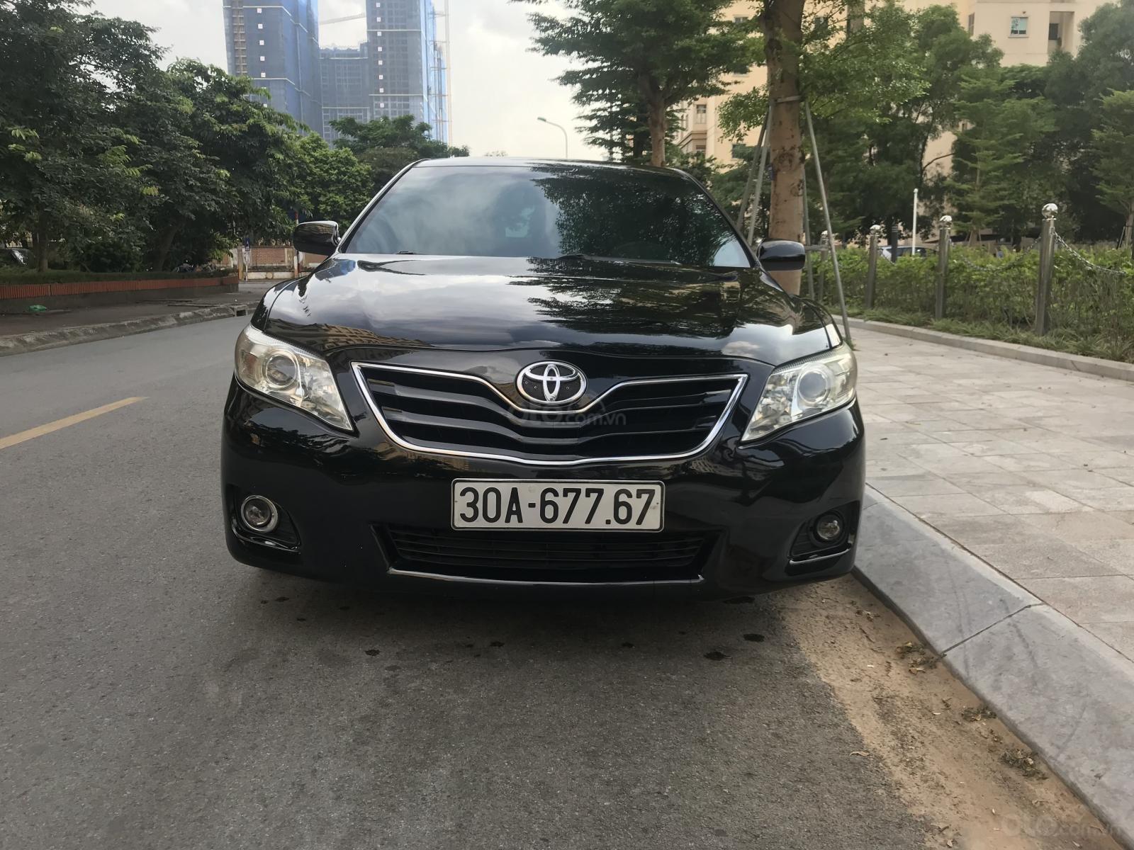 Bán Toyota Camry LE 2.5L sản xuất năm 2009, màu đen, nhập Mỹ (1)