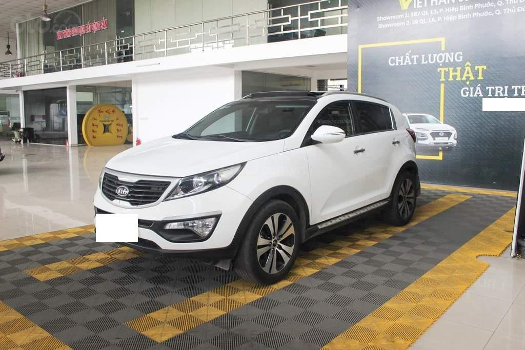 Hãng bán Kia Sportage Limited 2.0AT, màu trắng, nhập Hàn, biển Sài Gòn (2)