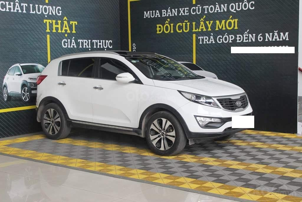 Hãng bán Kia Sportage Limited 2.0AT, màu trắng, nhập Hàn, biển Sài Gòn (3)