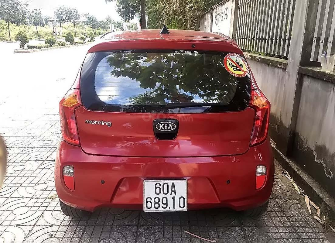 Bán Kia Morning sản xuất 2014, màu đỏ, xe gia đình (3)