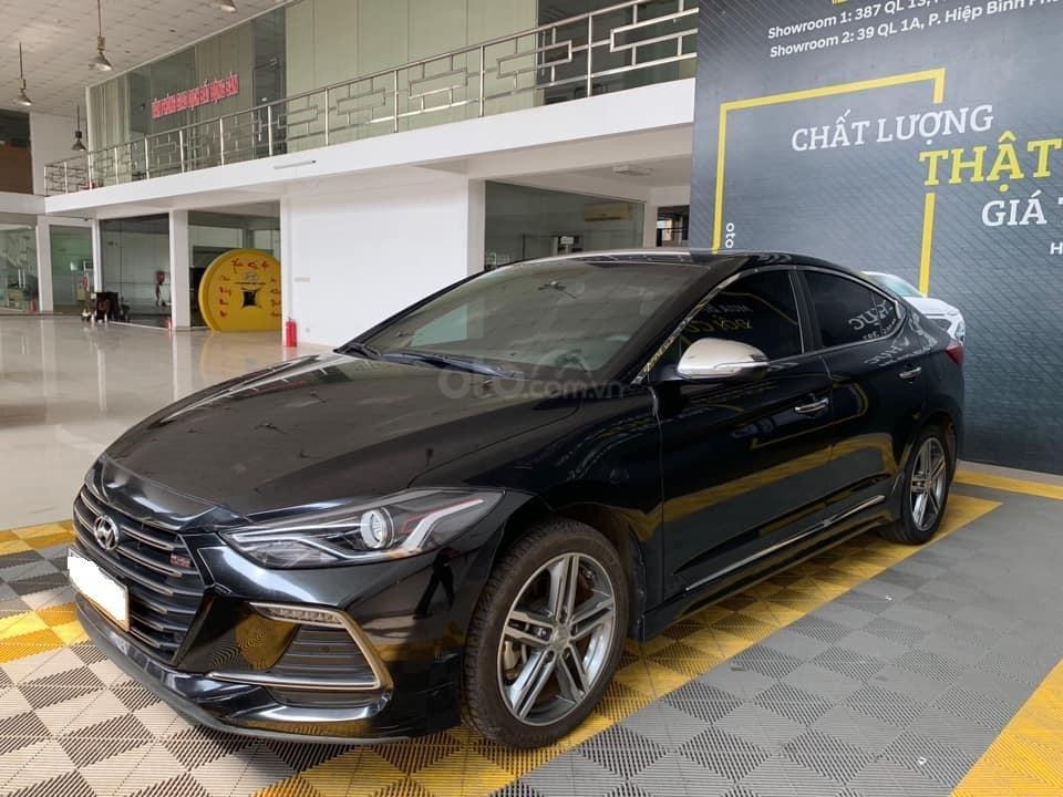 Bán xe Hyundai Elantra Turbo Sport đời 2018, màu đen, giá 668tr (3)