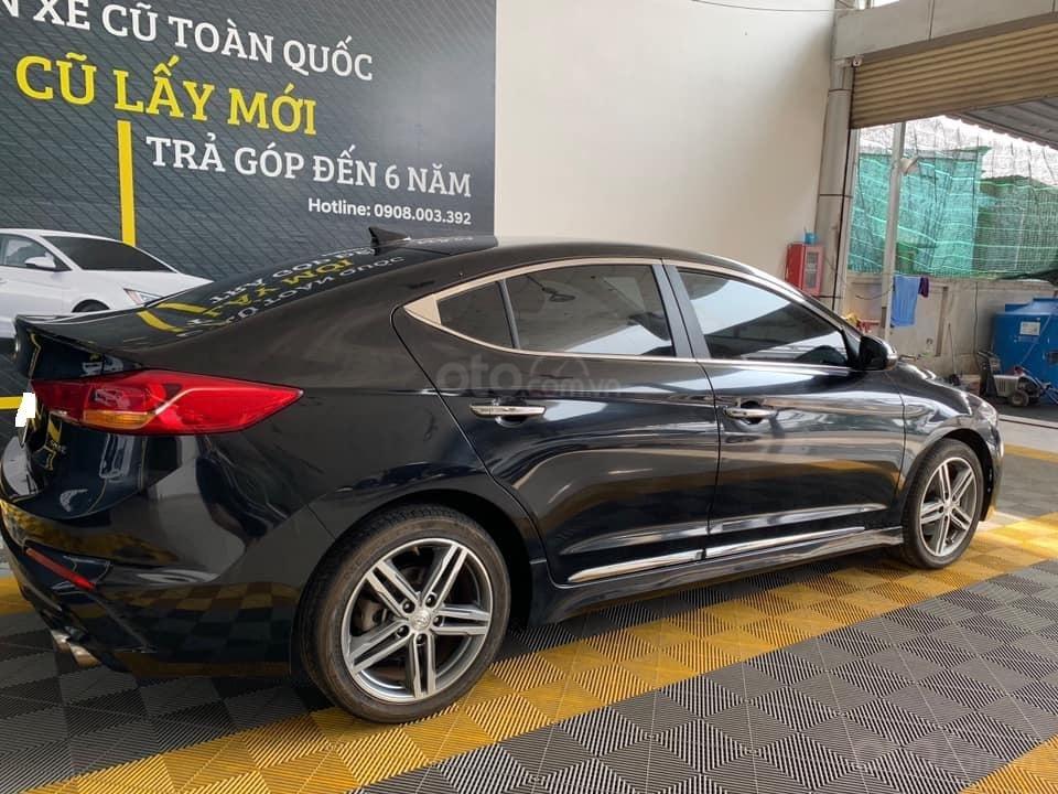 Bán xe Hyundai Elantra Turbo Sport đời 2018, màu đen, giá 668tr (5)