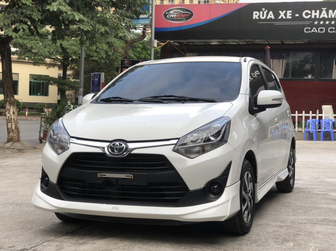 Toyota Wigo 1.2 G AT 2018, màu trắng, số tự động, trả góp (1)