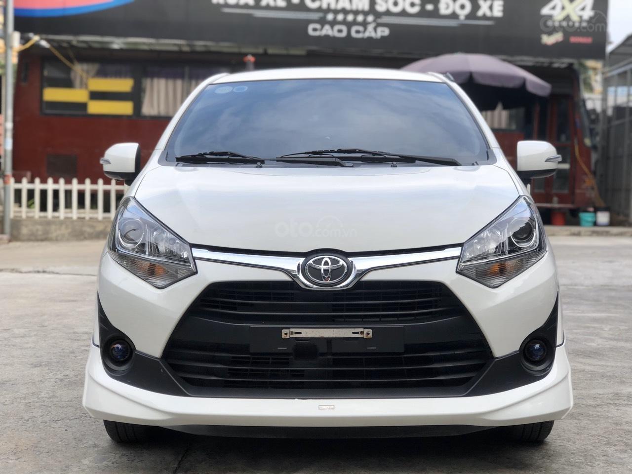 Toyota Wigo 1.2 G AT 2018, màu trắng, số tự động, trả góp (2)