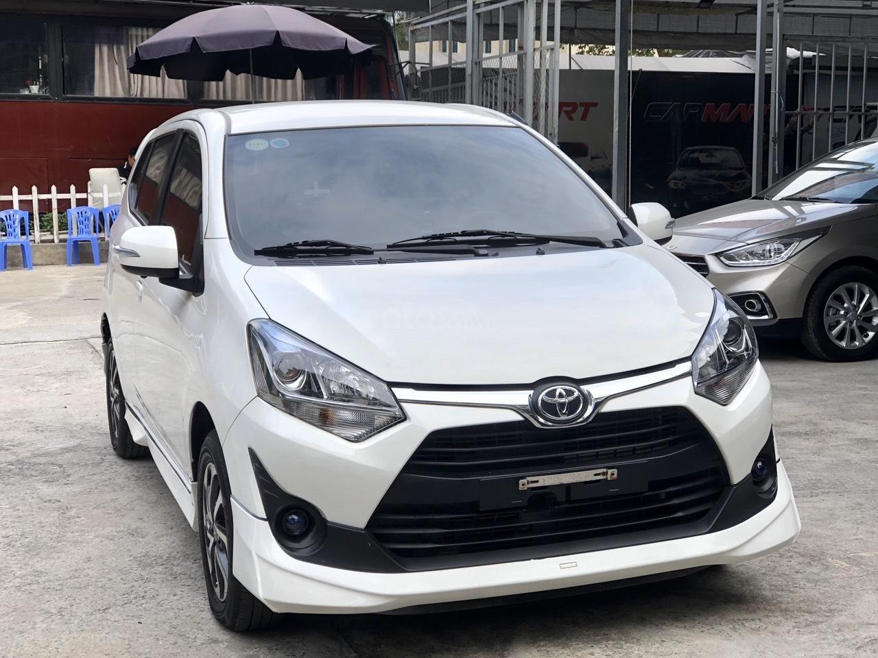 Toyota Wigo 1.2 G AT 2018, màu trắng, số tự động, trả góp (4)