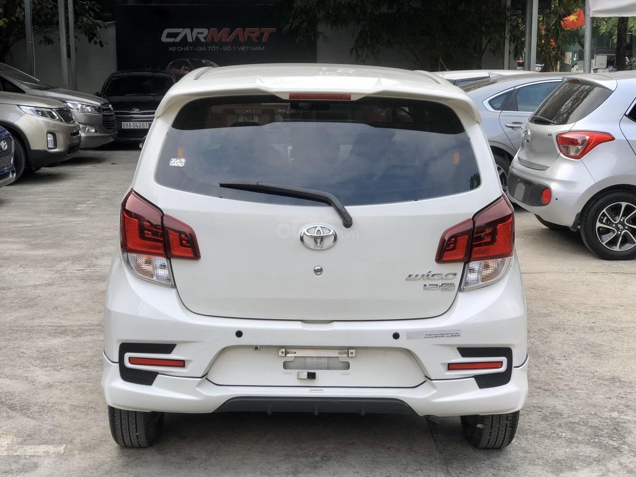 Toyota Wigo 1.2 G AT 2018, màu trắng, số tự động, trả góp (5)