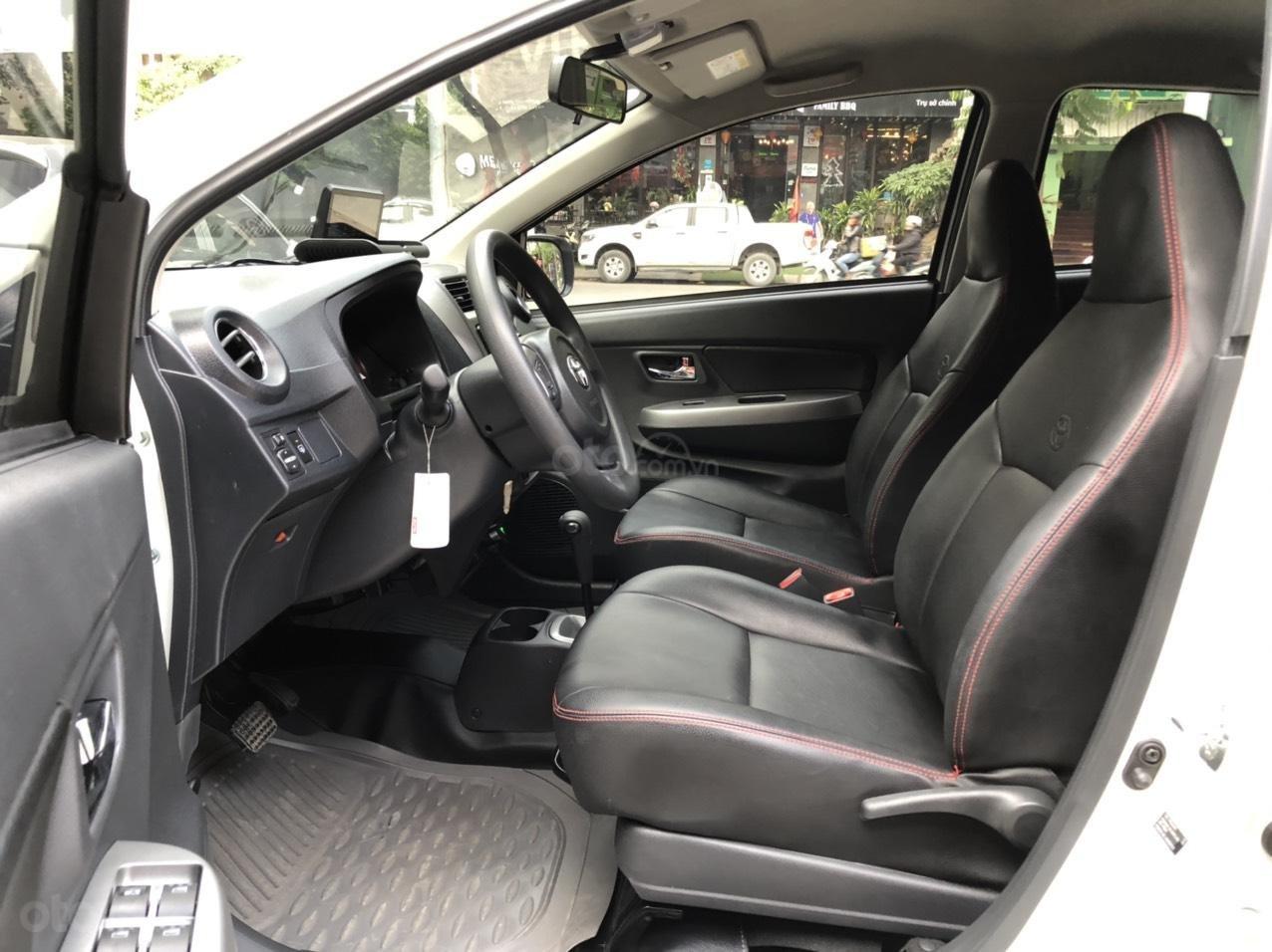 Toyota Wigo 1.2 G AT 2018, màu trắng, số tự động, trả góp (6)