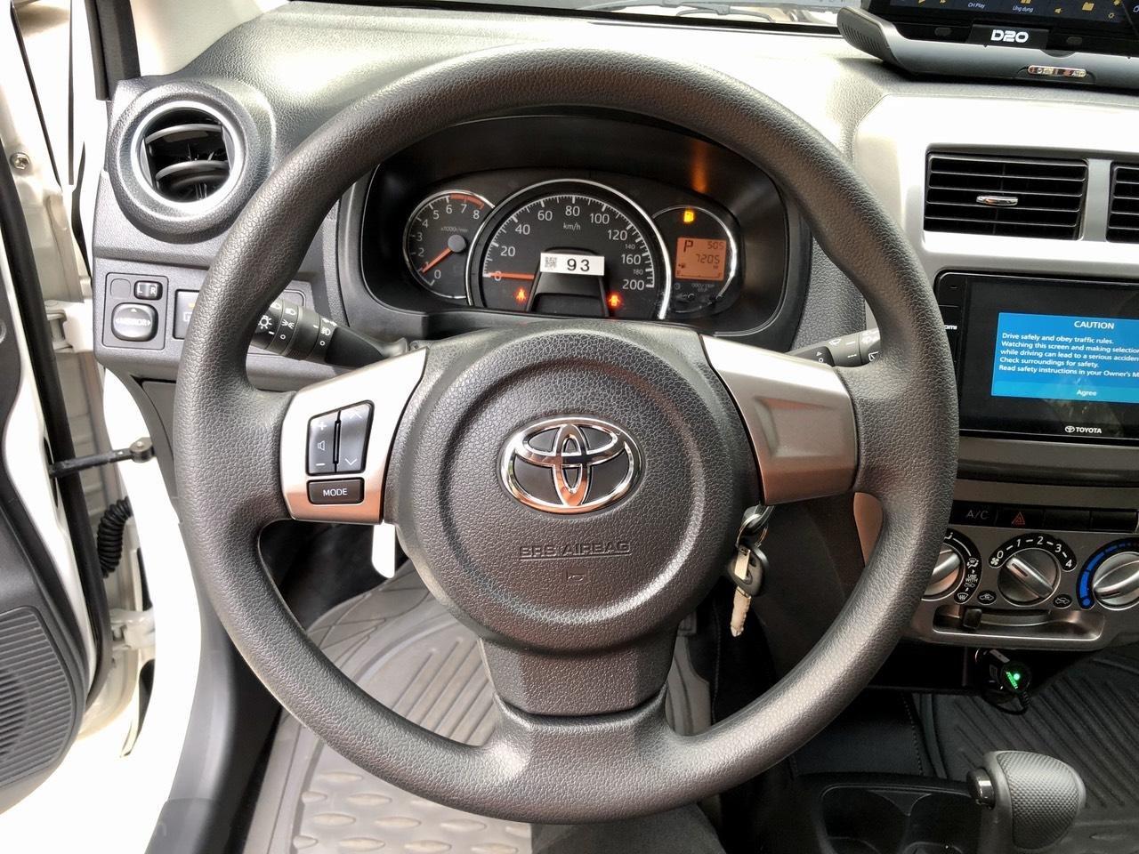 Toyota Wigo 1.2 G AT 2018, màu trắng, số tự động, trả góp (10)