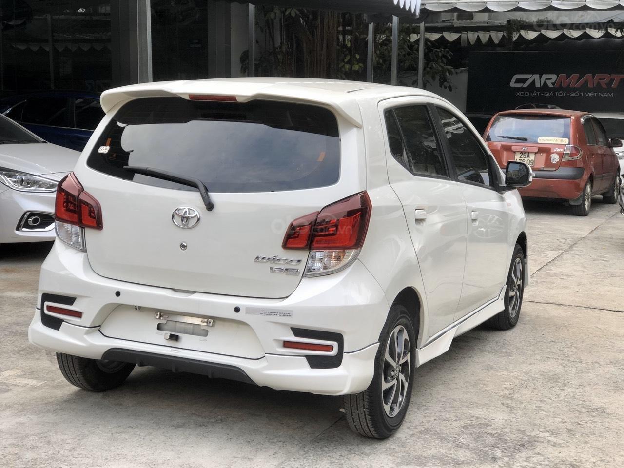 Toyota Wigo 1.2 G AT 2018, màu trắng, số tự động, trả góp (8)