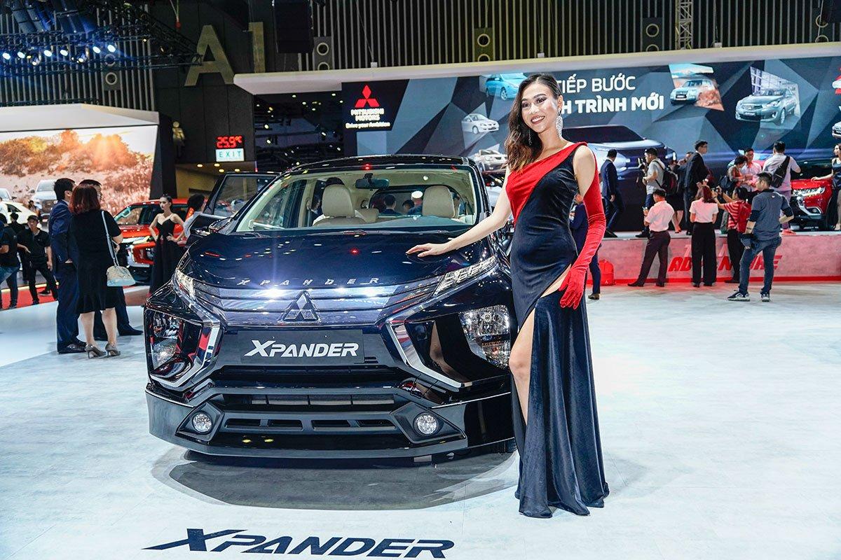 [VMS 2019] Cận cảnh gian hàng Mitsubishi trong ngày khai mạc triển lãm ô tô Việt Nam 2019 a1