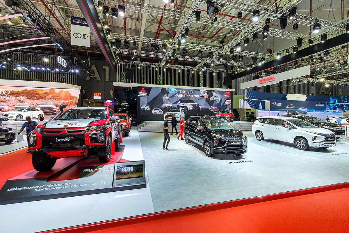 [VMS 2019] Cận cảnh gian hàng Mitsubishi trong ngày khai mạc triển lãm ô tô Việt Nam 2019 a45