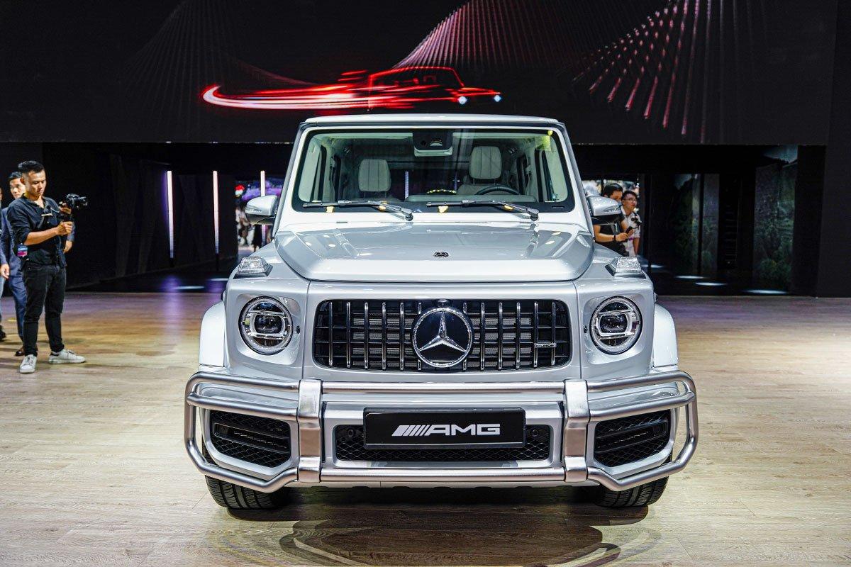 """[VMS 2019] Gian hàng Mercedes-Benz: GLE 450 4MATIC và Mercedes-AMG G 63 """"chiếm sóng""""! a3"""