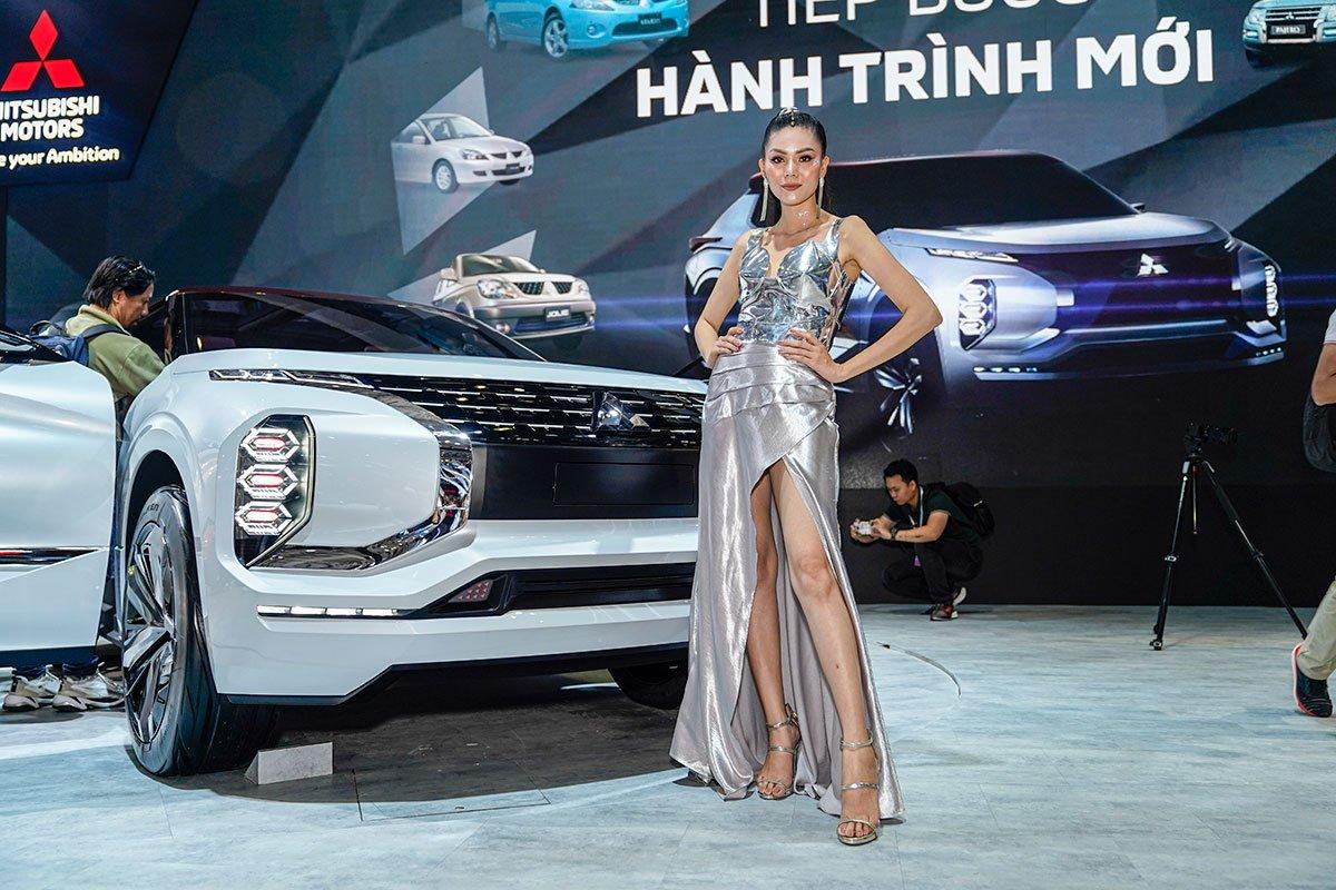 [VMS 2019] Cận cảnh gian hàng Mitsubishi trong ngày khai mạc triển lãm ô tô Việt Nam 2019 a4