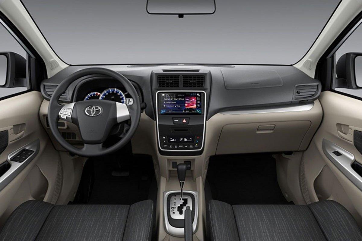 Đánh giá xe Toyota Avanza 2019 1.5 AT: Khoang cabin đã có một số thay đổi.