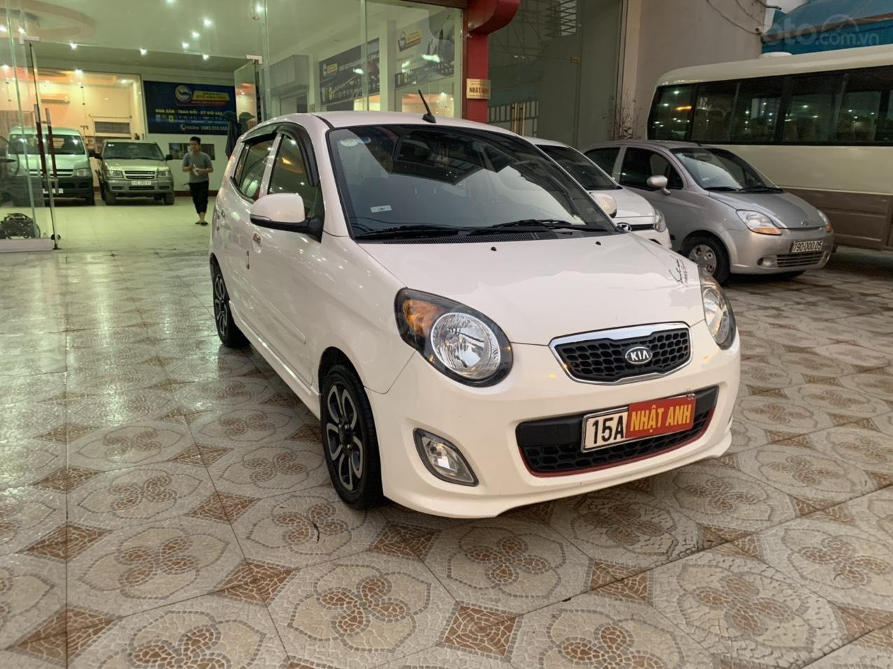Bán ô tô Kia Morning SLX năm 2010, màu trắng, nhập khẩu giá cạnh tranh (3)