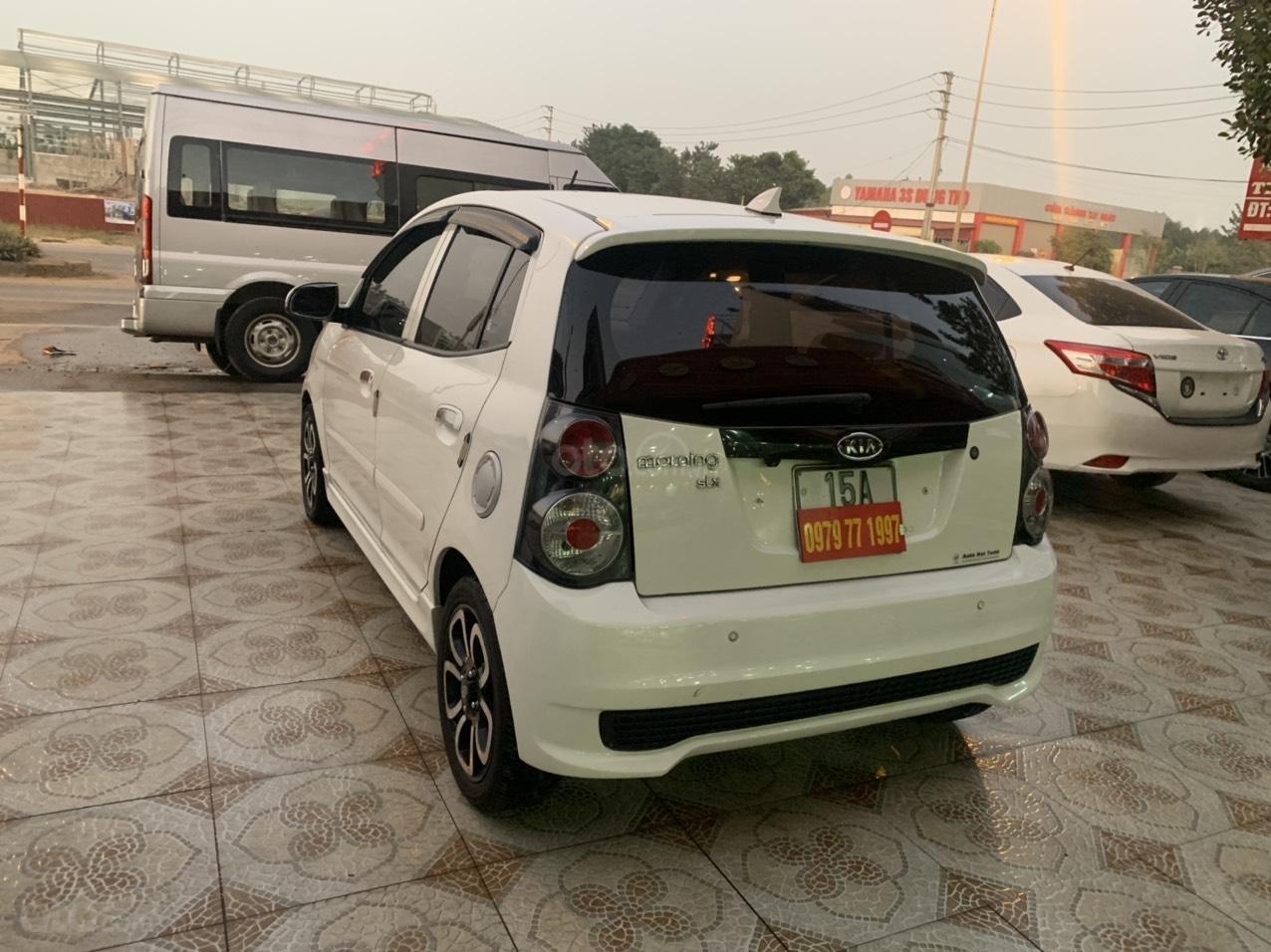 Bán ô tô Kia Morning SLX năm 2010, màu trắng, nhập khẩu giá cạnh tranh (5)