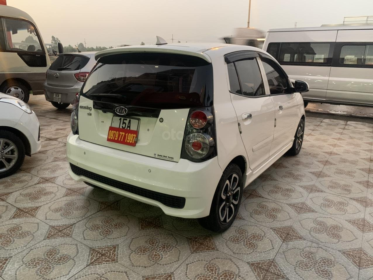 Bán ô tô Kia Morning SLX năm 2010, màu trắng, nhập khẩu giá cạnh tranh (6)