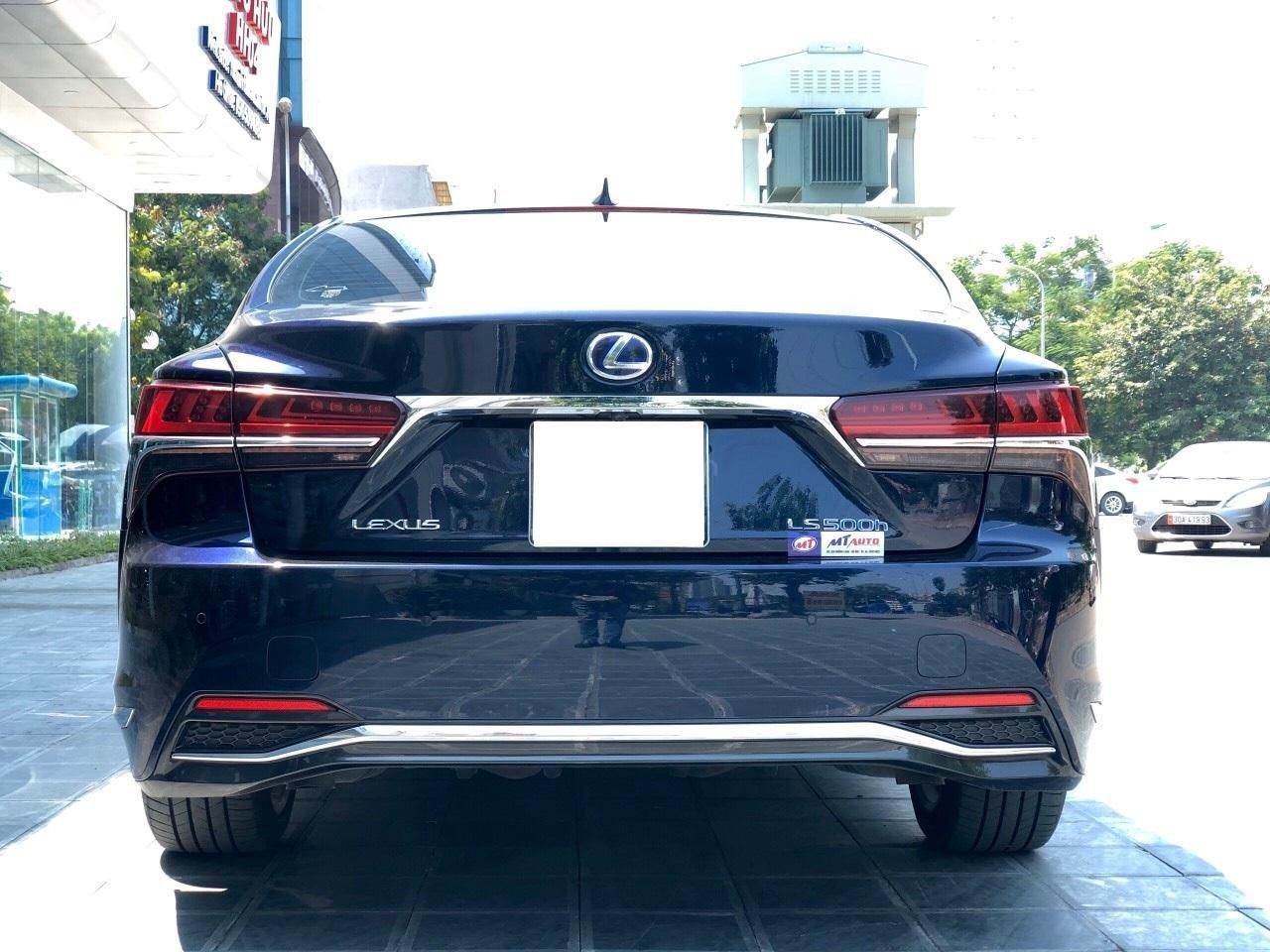 Bán xe Lexus LS 500H 2017, màu xanh lam, giá tốt giao ngay toàn quốc, LH Ngọc Vy 093.996.2368 (8)