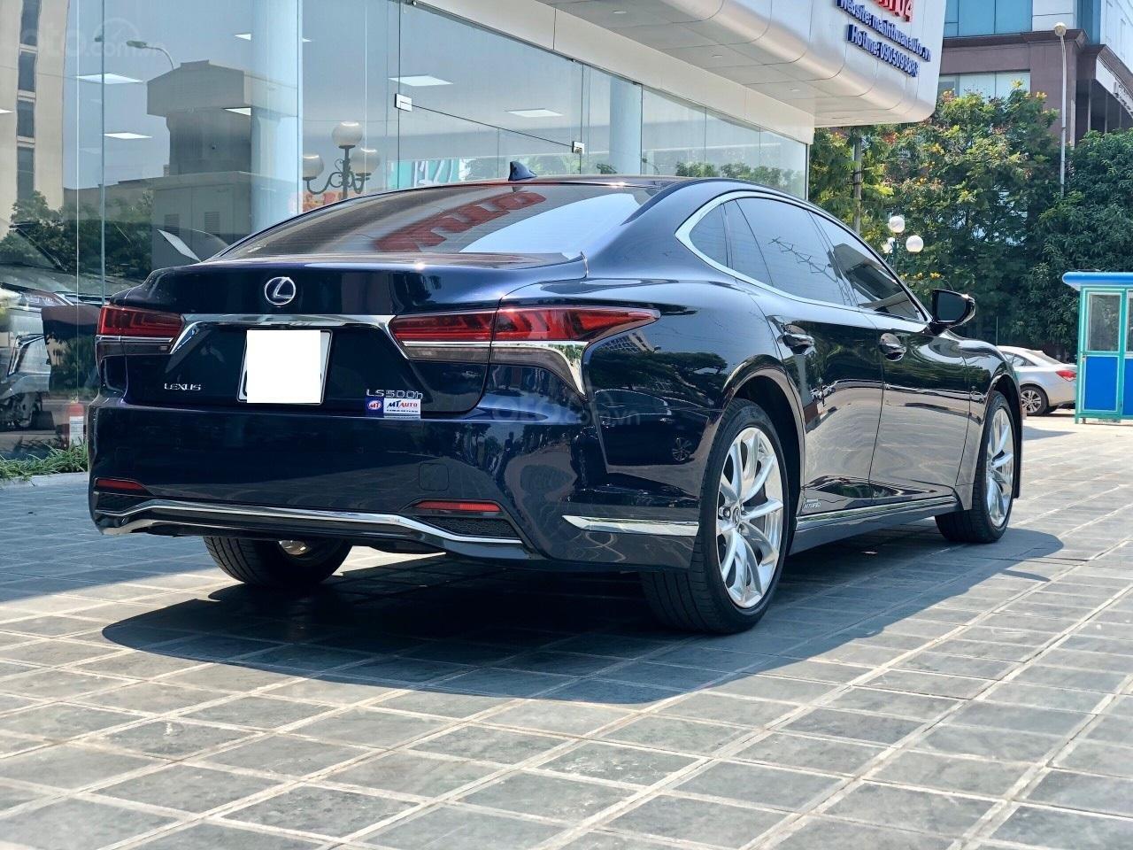 Bán xe Lexus LS 500H 2017, màu xanh lam, giá tốt giao ngay toàn quốc, LH Ngọc Vy 093.996.2368 (6)