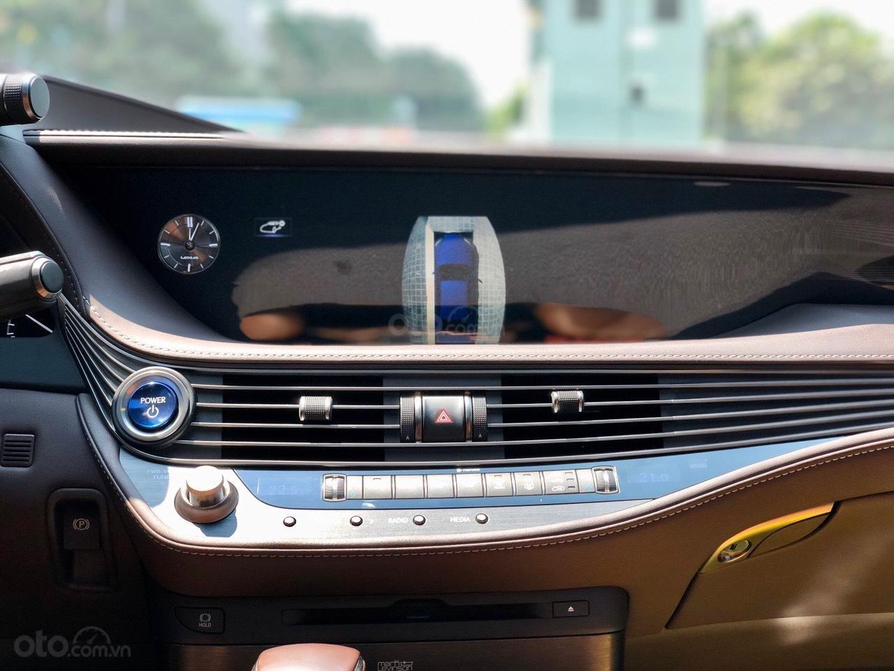 Bán xe Lexus LS 500H 2017, màu xanh lam, giá tốt giao ngay toàn quốc, LH Ngọc Vy 093.996.2368 (20)