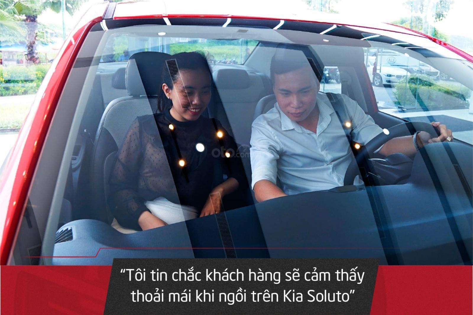 Kia Soluto 1.4MT - Mẫu sedan hạng B tối ưu nhất, kinh tế nhất cho khách hàng kinh doanh vận tải (2)