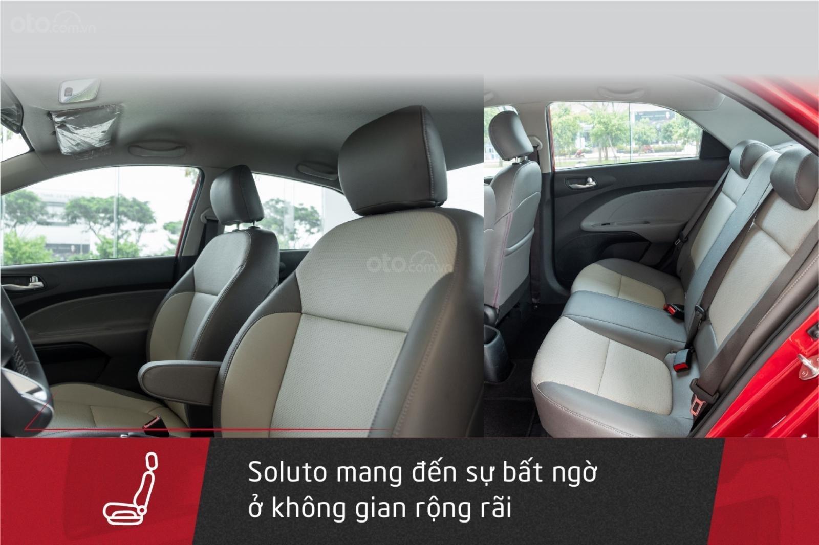 Kia Soluto 1.4MT - Mẫu sedan hạng B tối ưu nhất, kinh tế nhất cho khách hàng kinh doanh vận tải (4)