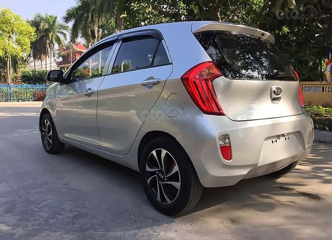 Cần bán xe Kia Morning MT sản xuất 2015, màu bạc (2)
