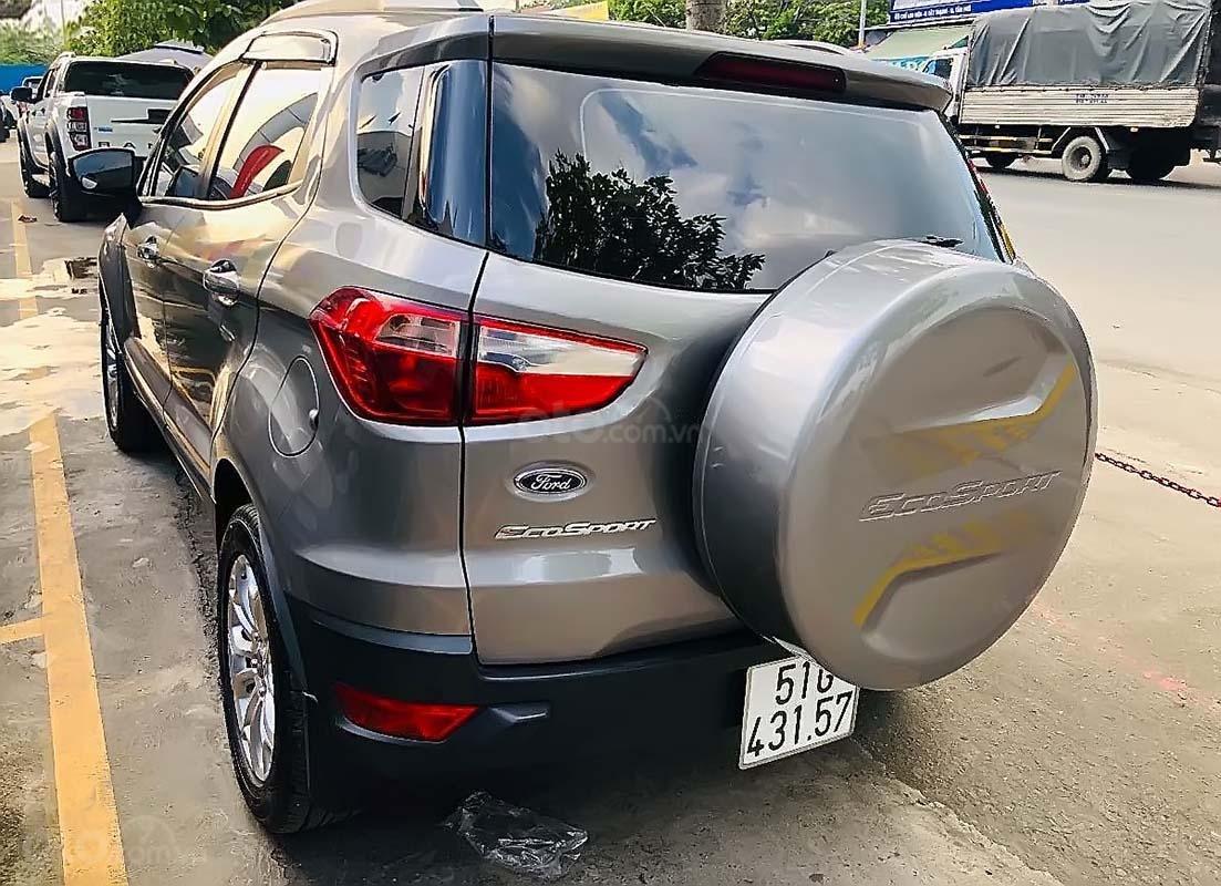 Bán xe Ford EcoSport 1.5 L Titanium năm 2017, màu xám (2)