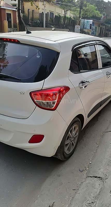 Bán Hyundai Grand i10 năm sản xuất 2016, màu trắng, nhập khẩu   (2)