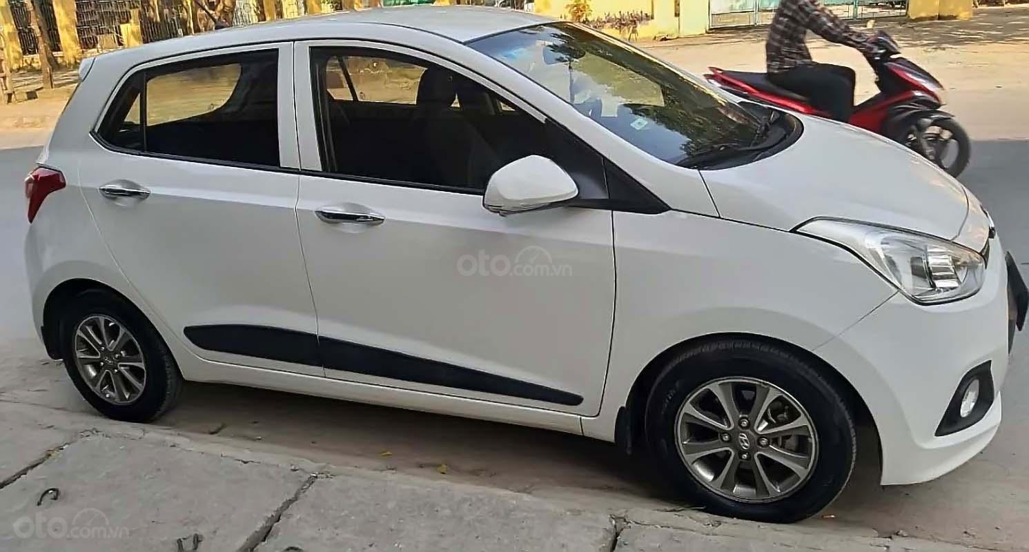 Bán Hyundai Grand i10 năm sản xuất 2016, màu trắng, nhập khẩu   (1)