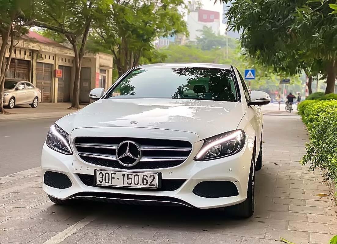 Cần bán Mercedes C200 đời 2017, màu trắng (1)