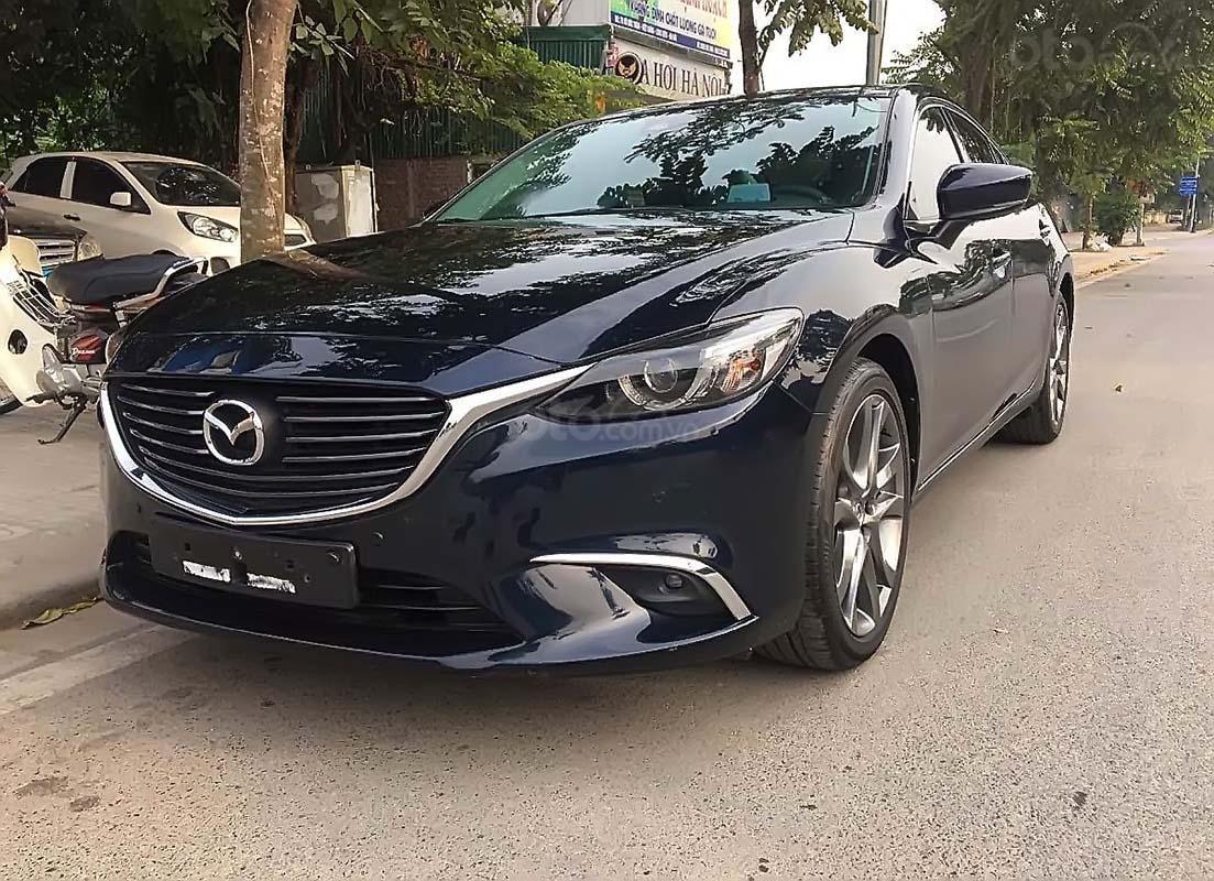 Bán Mazda 6 đời 2018, màu xanh lam, giá tốt (1)